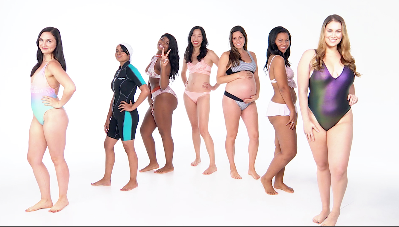 Here's What It's Like to Try on a Sports Illustrated Swimsuit as a Size 12 Woman