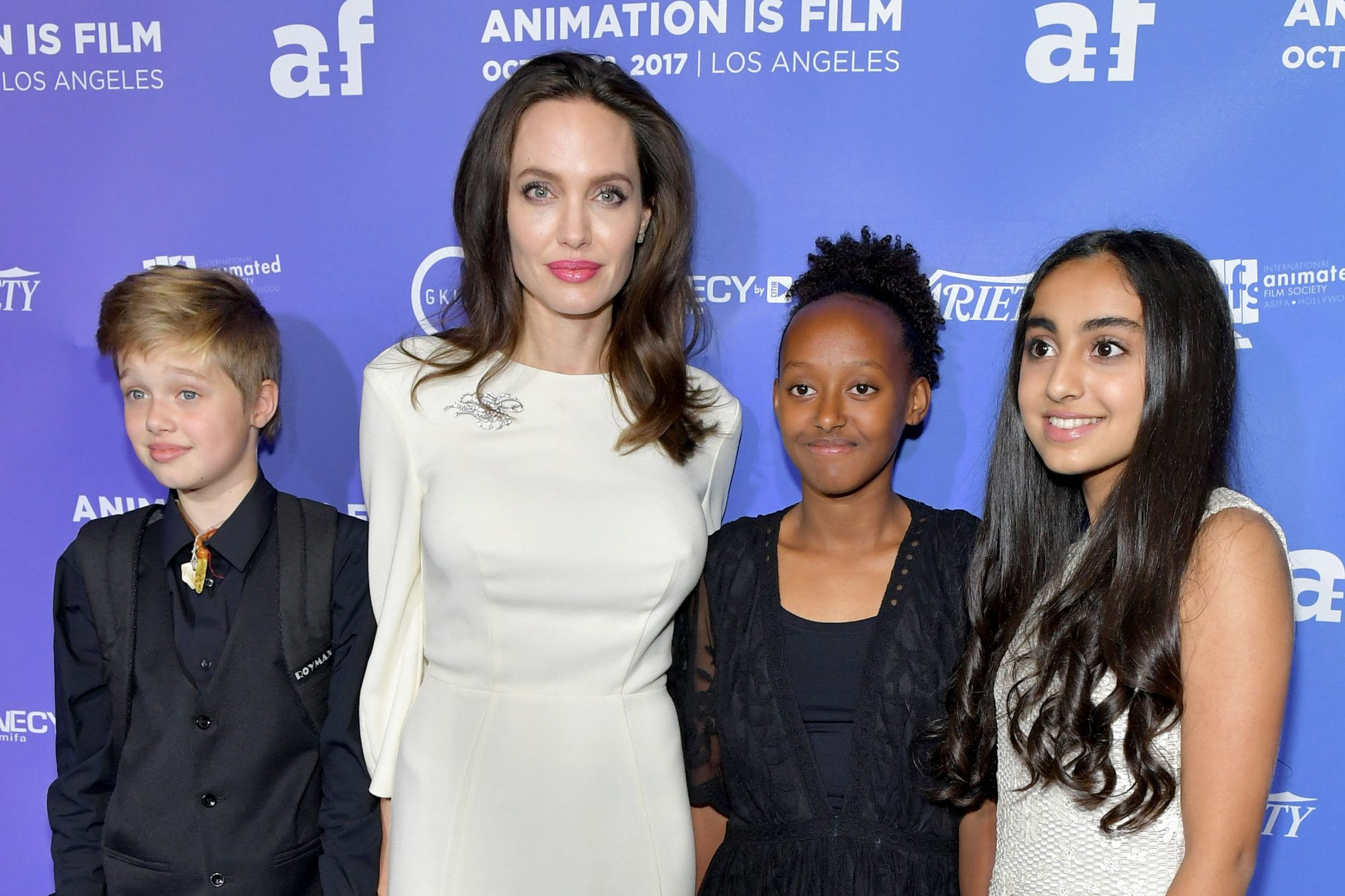 Angelina Jolie's Daughter Shiloh Jolie-Pitt Recovering After Breaking Her Arm While Snowboarding