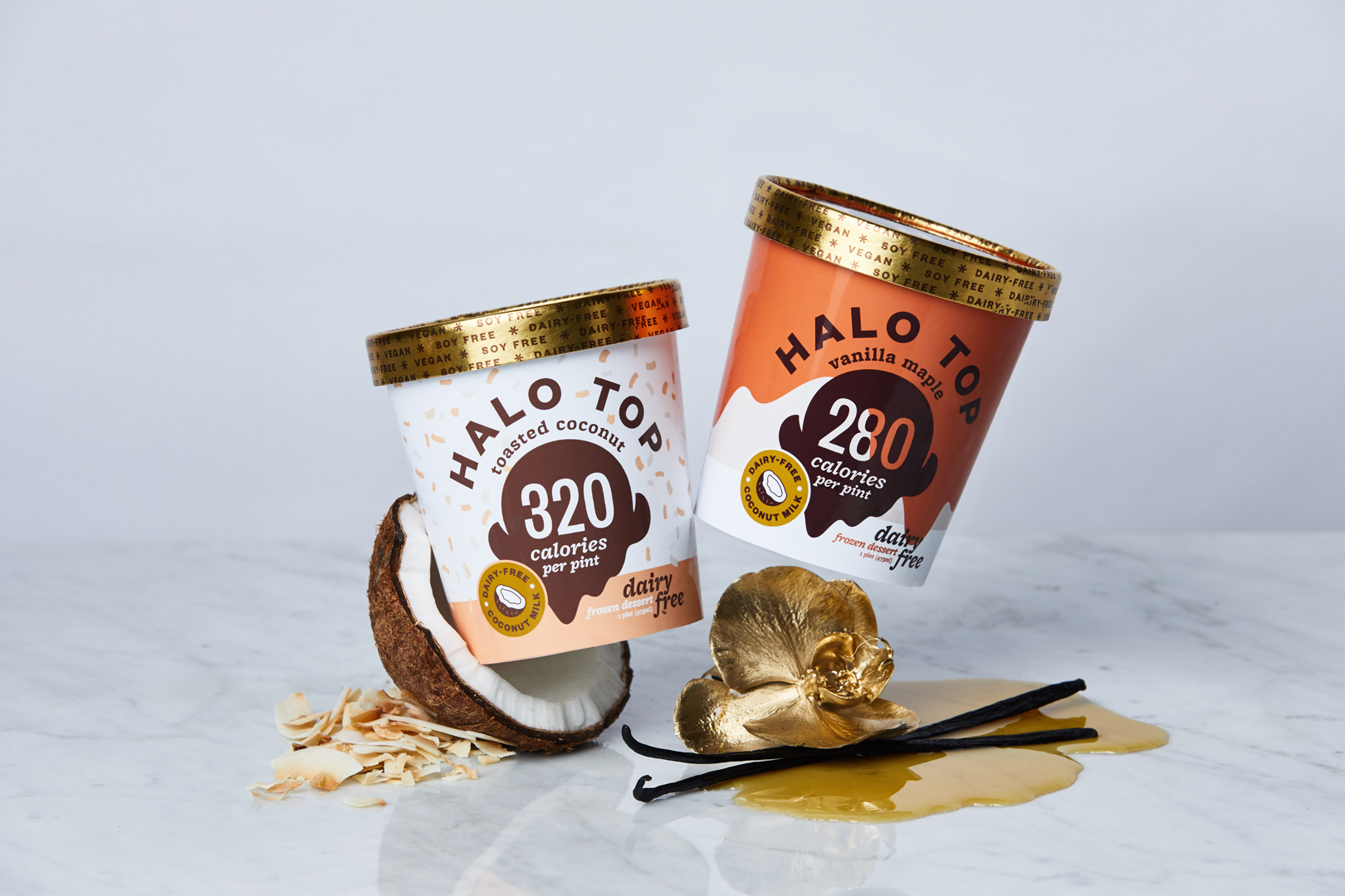 Halo Top Just Released Two New Dairy-Free and Vegan Flavors