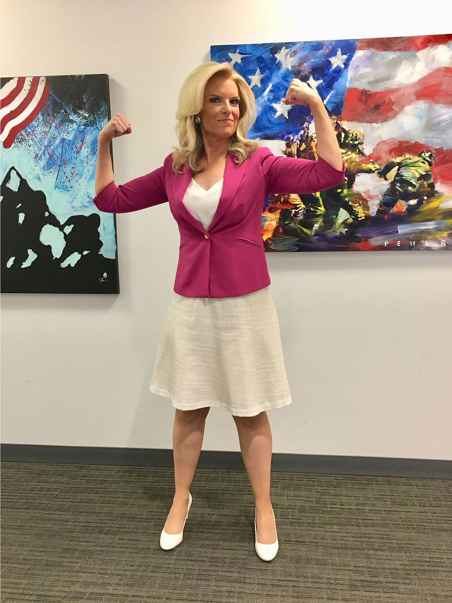 Fox and Friends Meteorologist with MS Slams Viewer Who Complains About Her Legs