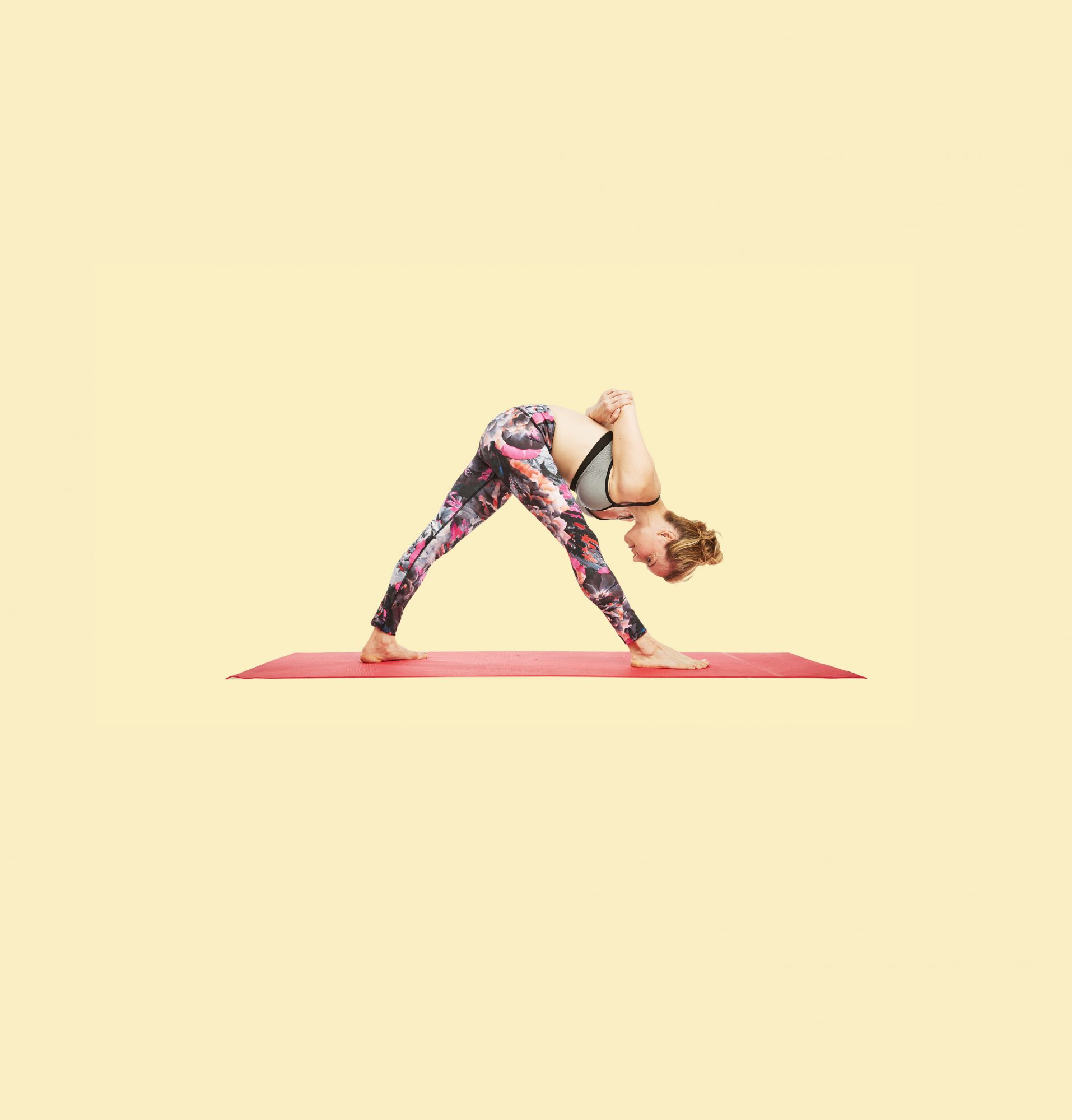 yoga moves to stop slouching humble warrior