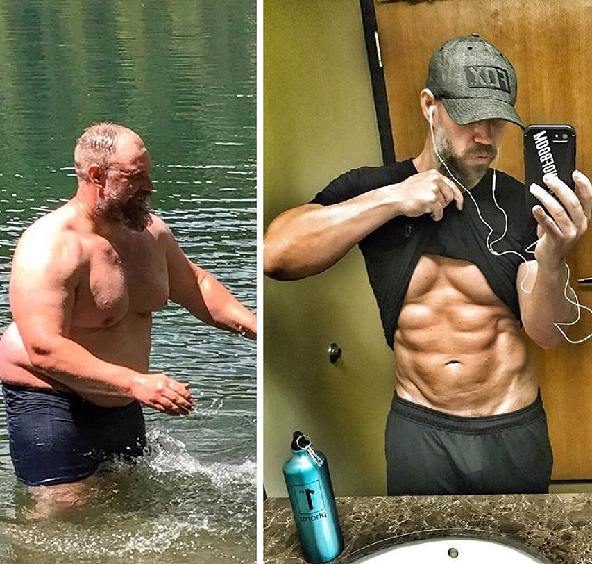 How This Dad Lost Nearly 100 Lbs.—and Gained a Six-Pack