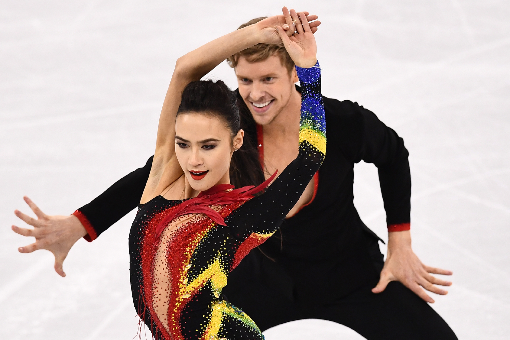 U.S. Skater Couple Competed Through a 'Kind of Traumatic' Moment Just Before Taking the Ice