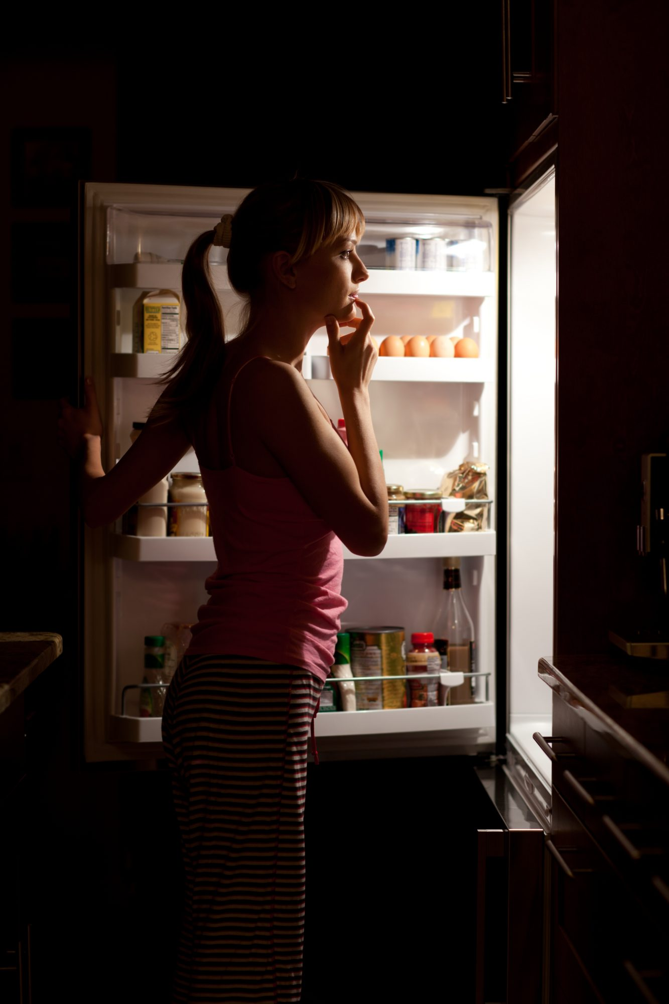 Midnight munching can disrupt your body clock