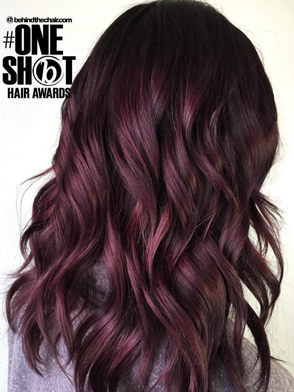 Brown violet hair color recommendations dress for spring in 2019