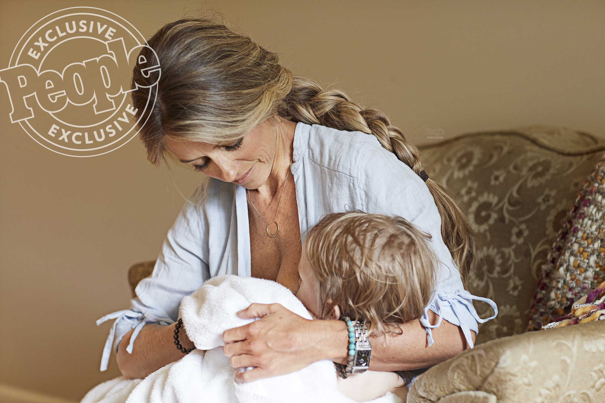 Nicole Curtis Still Breastfeeds Her Almost 3-Year-Old Son But Says Less Frequently These Days