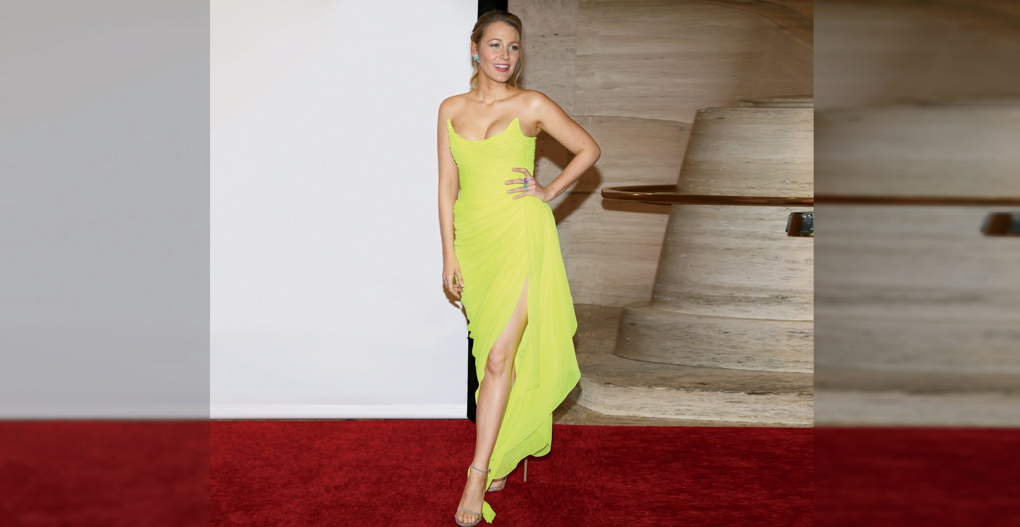 Blake Lively Wore a Dress and Heels to the Gym and You Need to See the Photos
