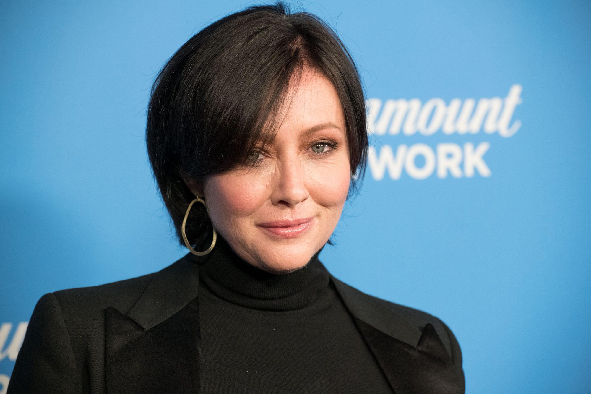Shannen Doherty Is 'Staying Positive' After a Post-Cancer Tumor Scan Came Back 'Elevated'