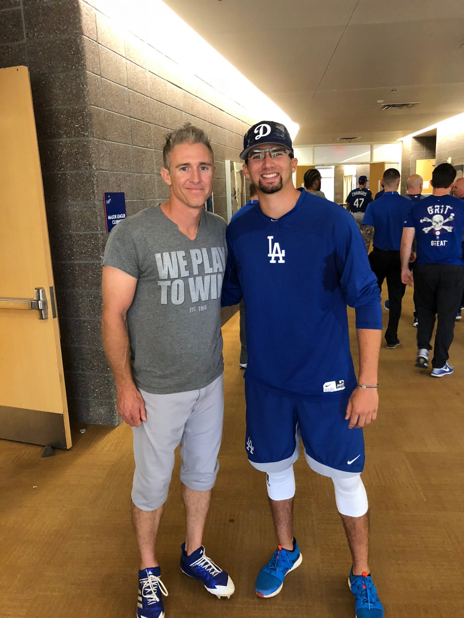 Boy With Cancer Who Took Picture With MLB Star Reunites With Him 13 Years Later as a Dodger