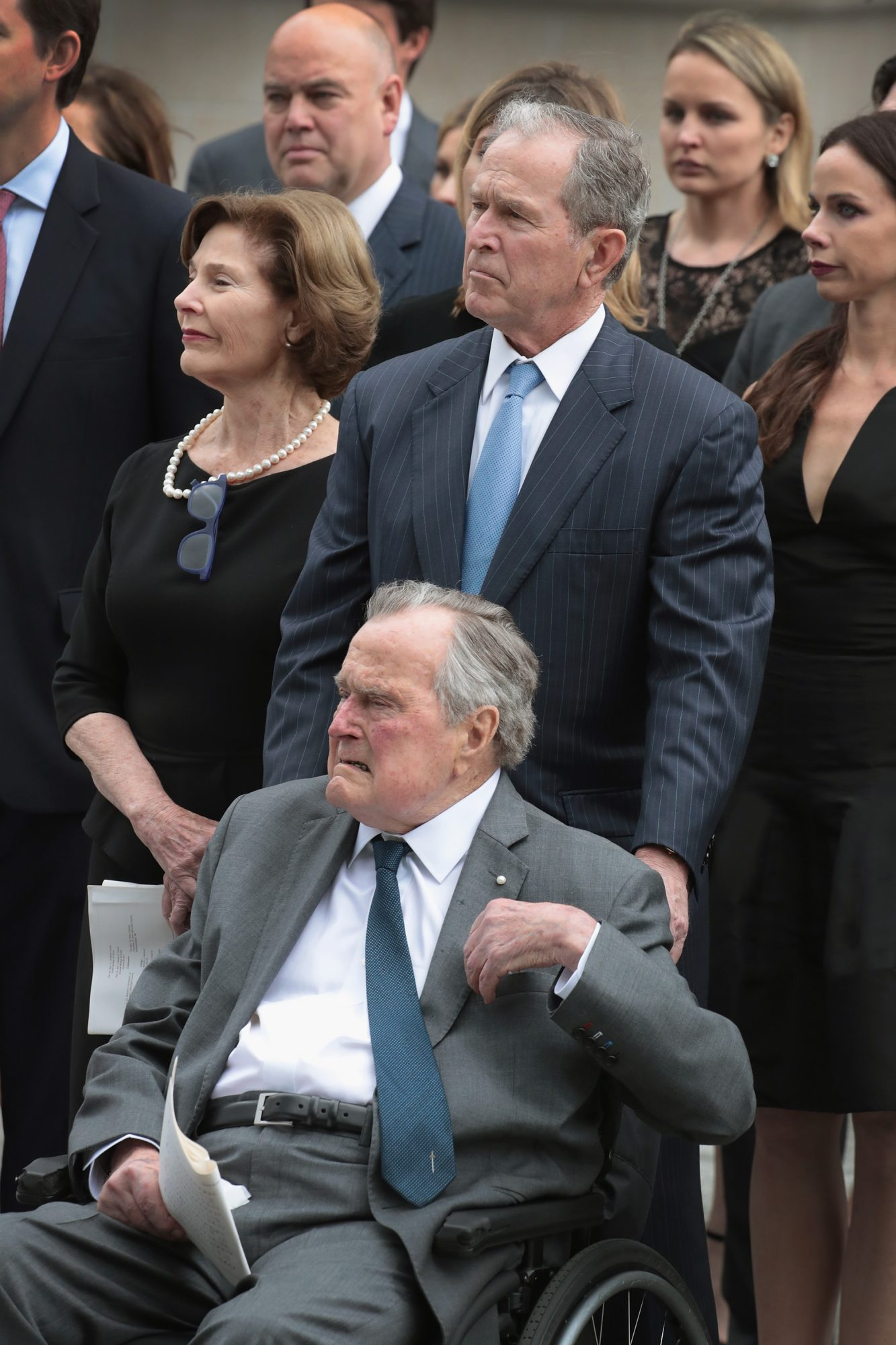 George H.W. Bush's Hospitalization After Barbara's Funeral Could Be Due to Broken Heart Syndrome