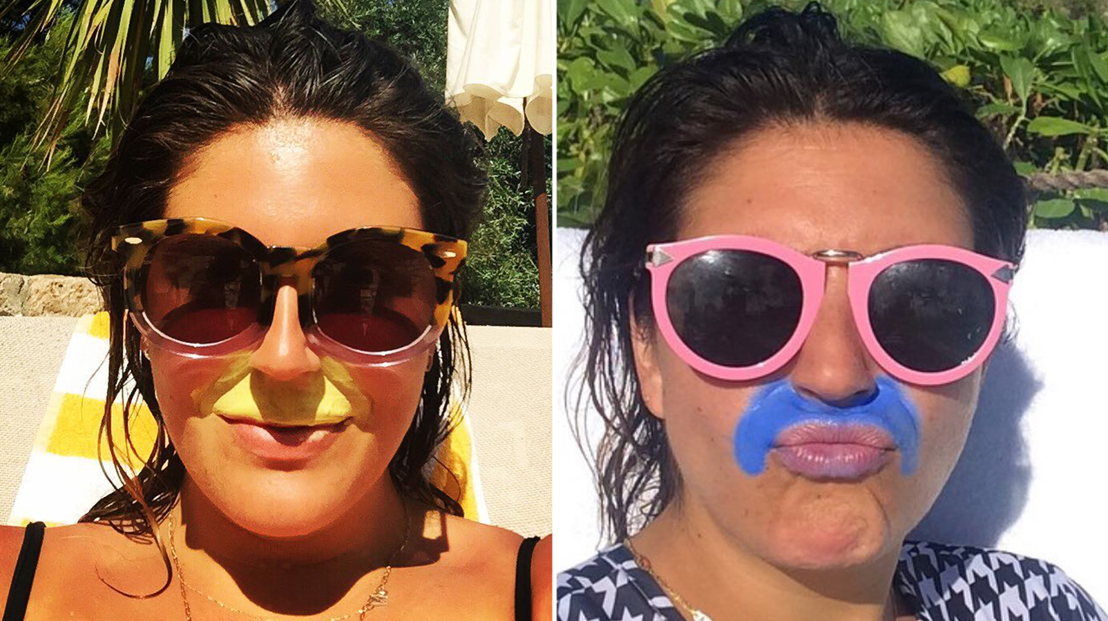 This Blogger Applies Sunscreen Like a Mustache to Prevent Melasma—Does That Really Work?