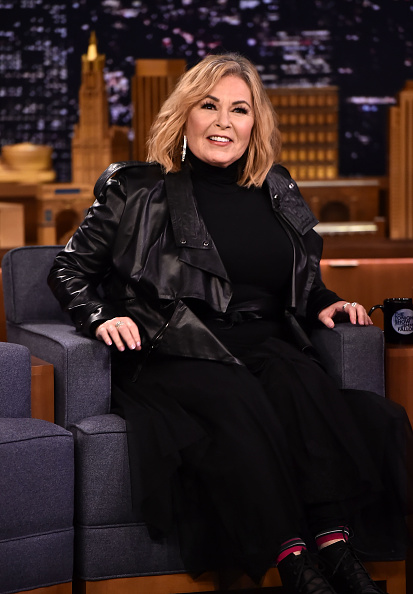 Roseanne Barr Visits The Tonight Show Starring Jimmy Fallon