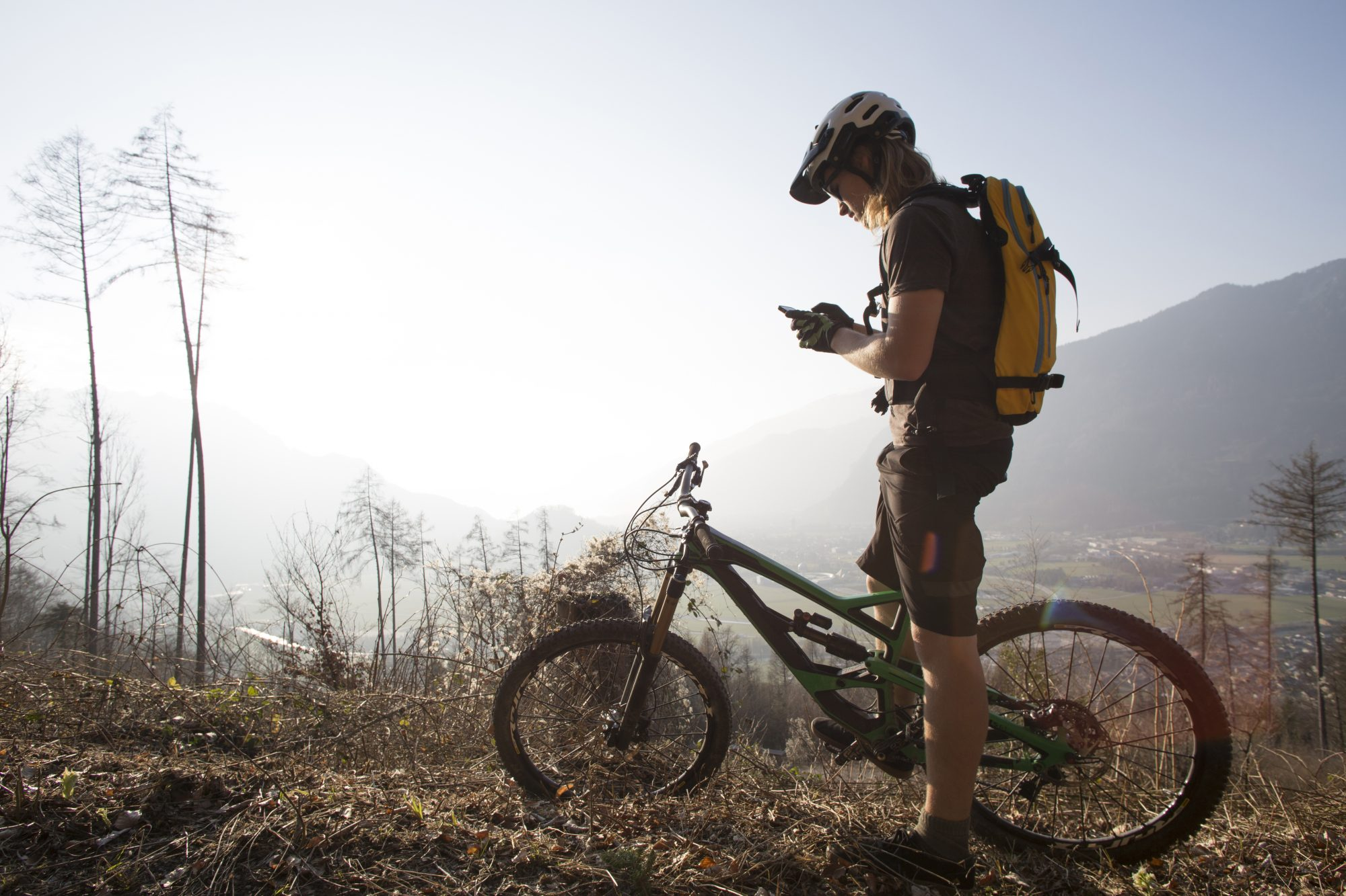 How to stay safe when mountain biking