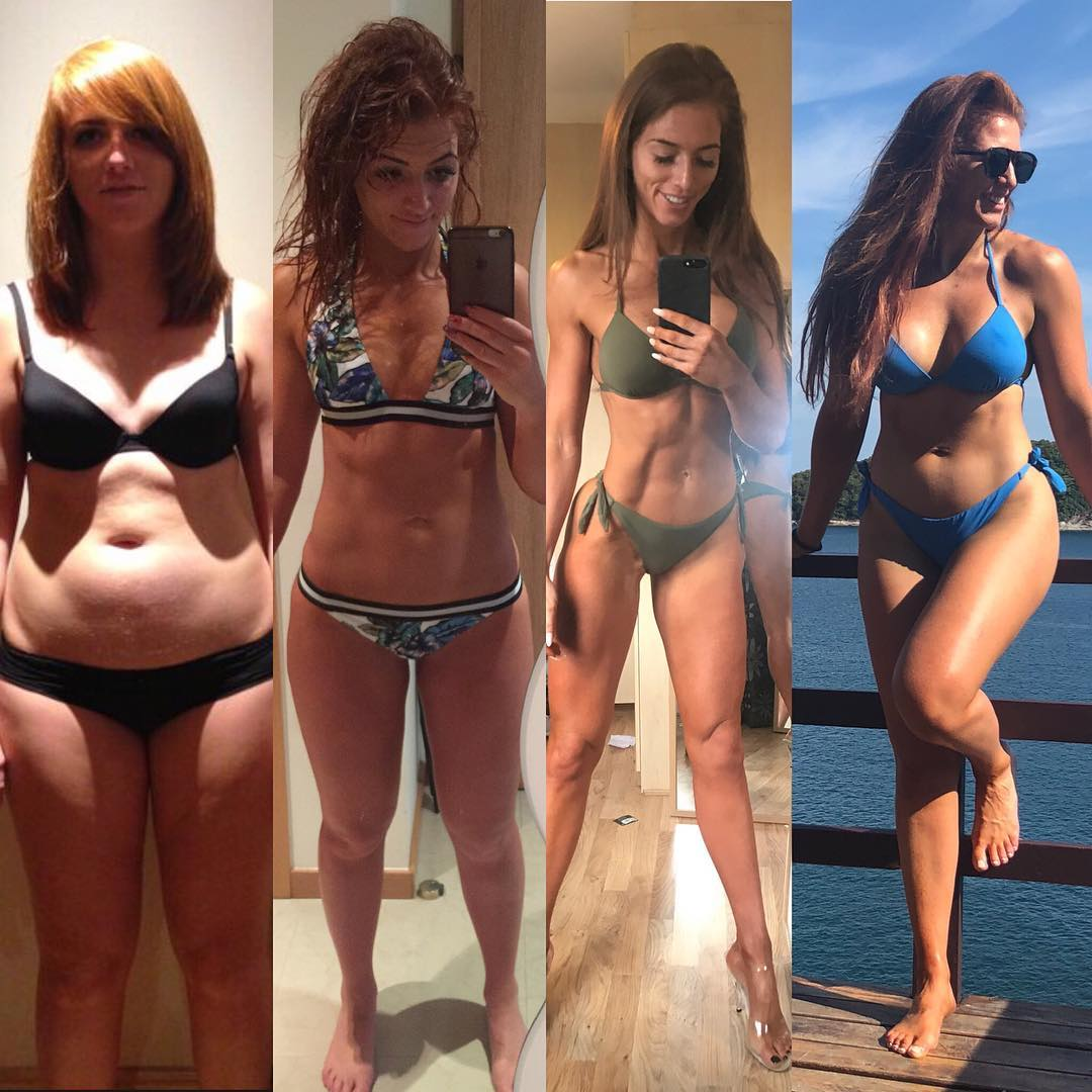 Perfect Abs Are Not the Key to Happiness—and This Woman's Transformation Photos Are Proof