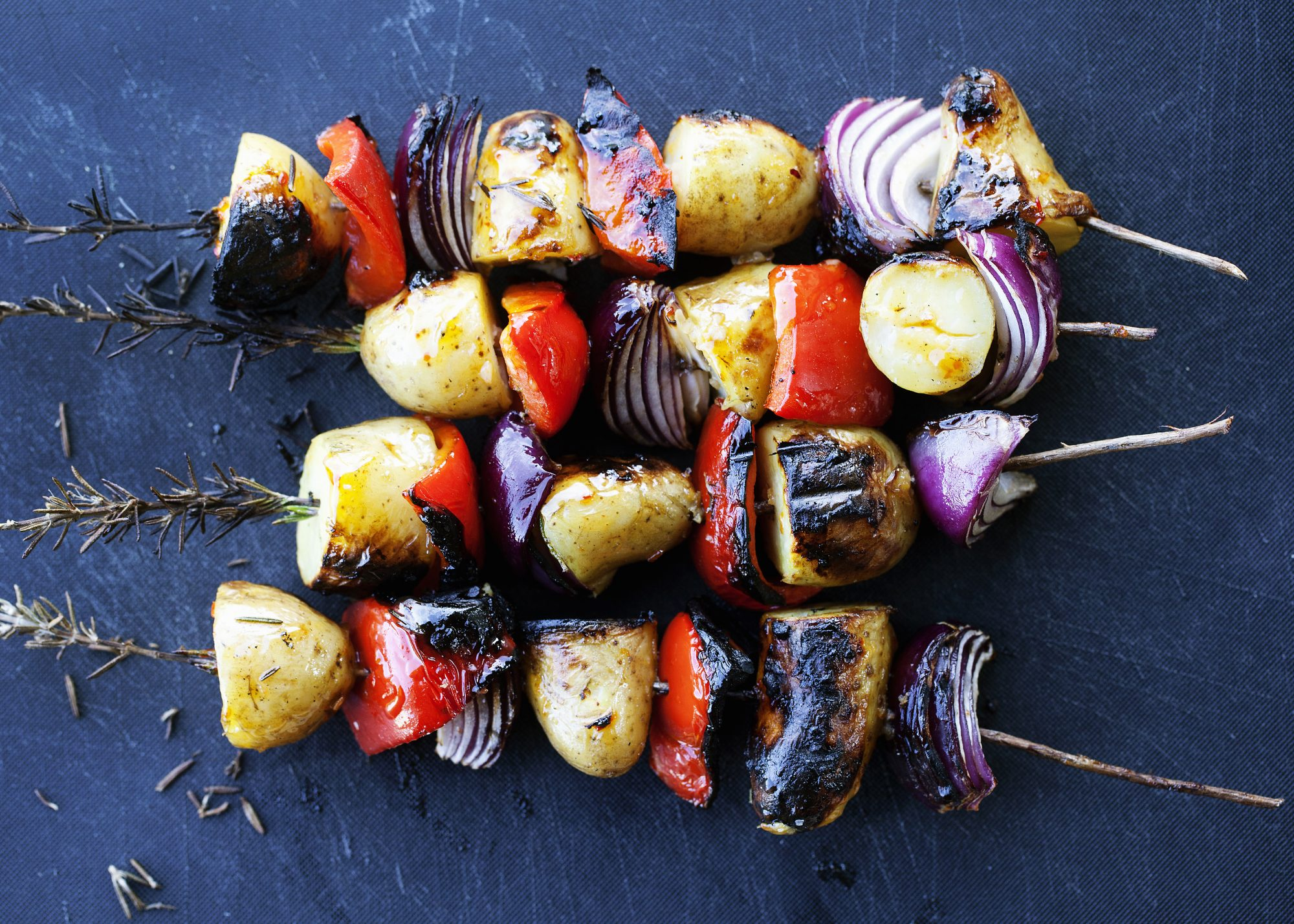 grilled-vegetables-bbq-skewer