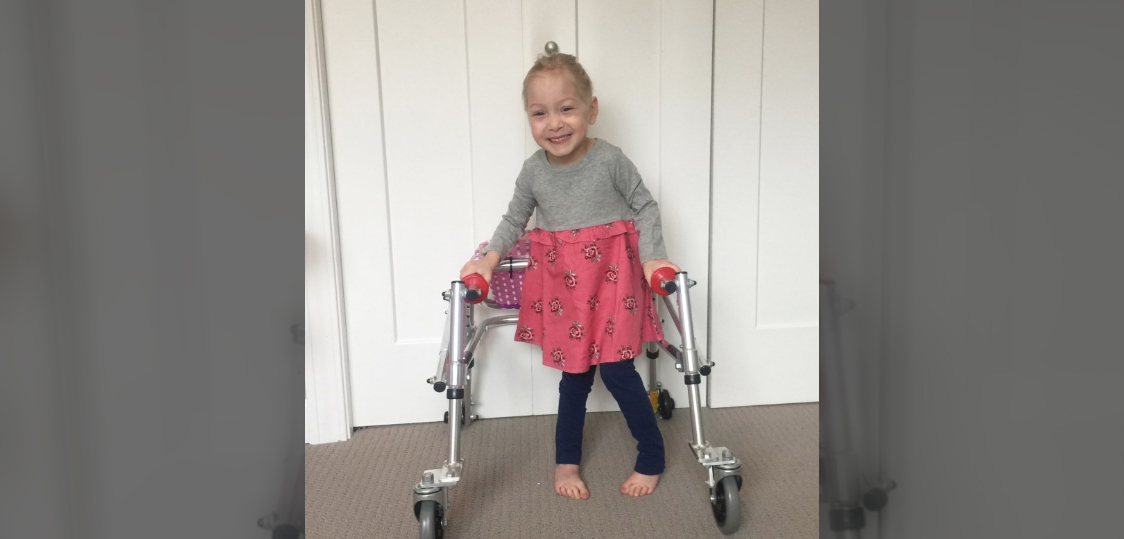 This Video of a 4-Year-Old With Cerebral Palsy Walking on Her Own for the First Time Will Make Your Day