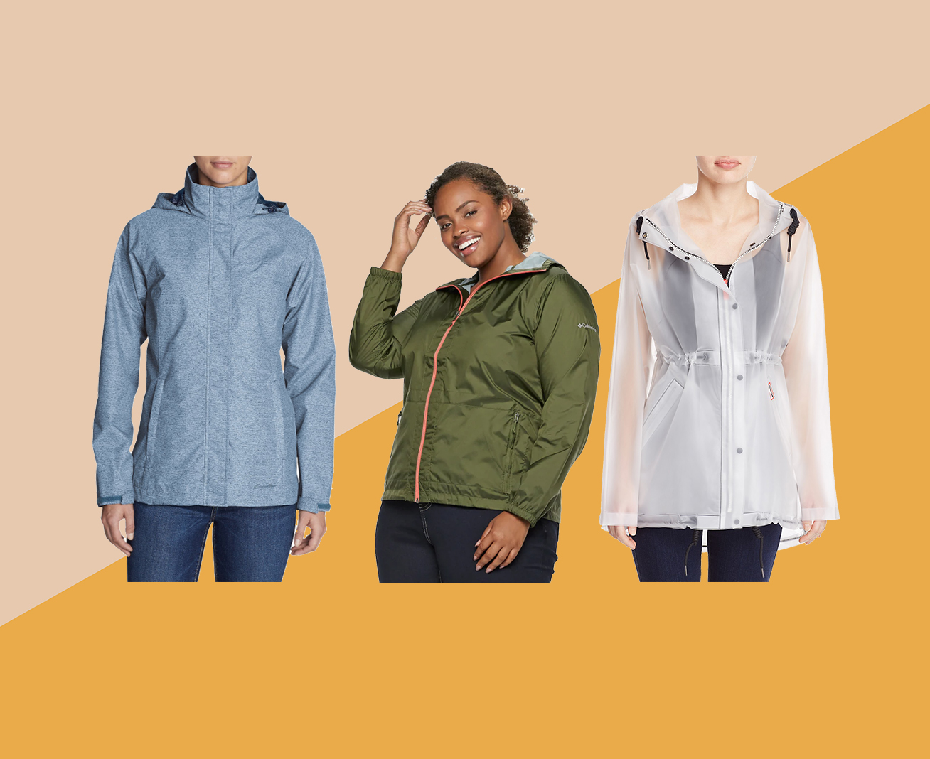 Packable Rain Jackets for Men and Women
