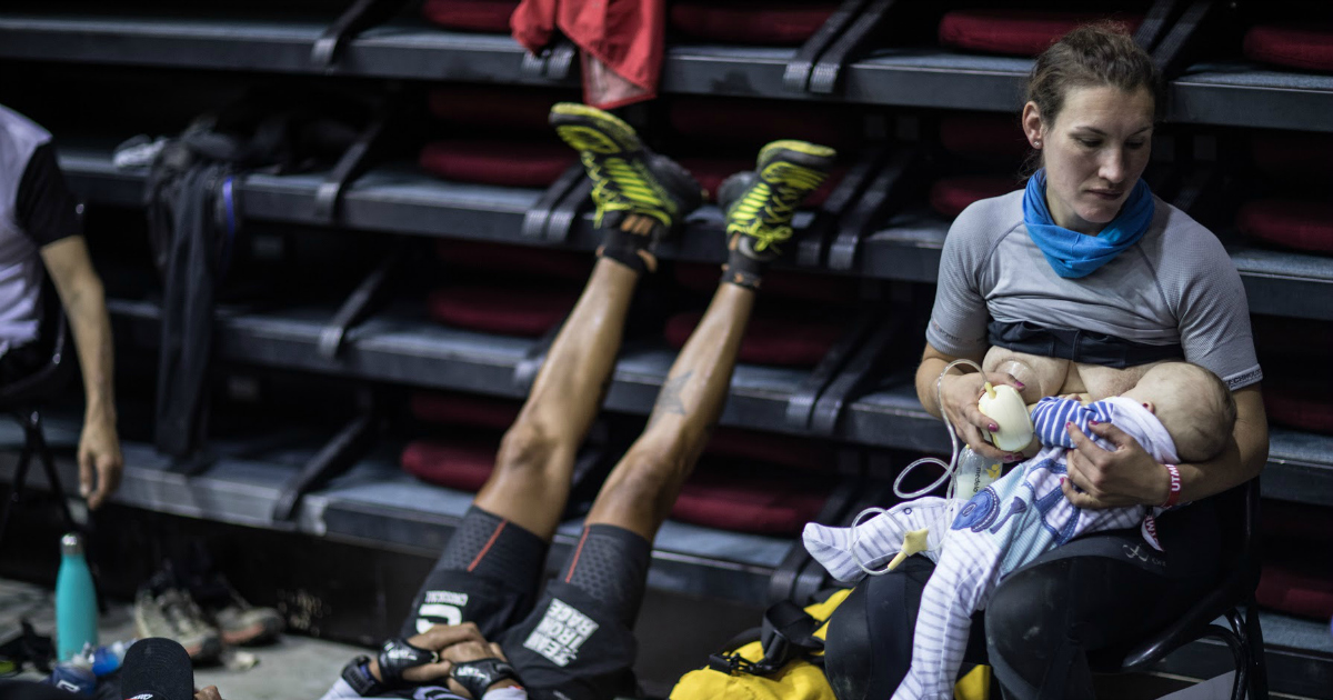This Mom Stopped to Breastfeed Her Baby 16 Hours Into a 106-Mile Ultramarathon Race
