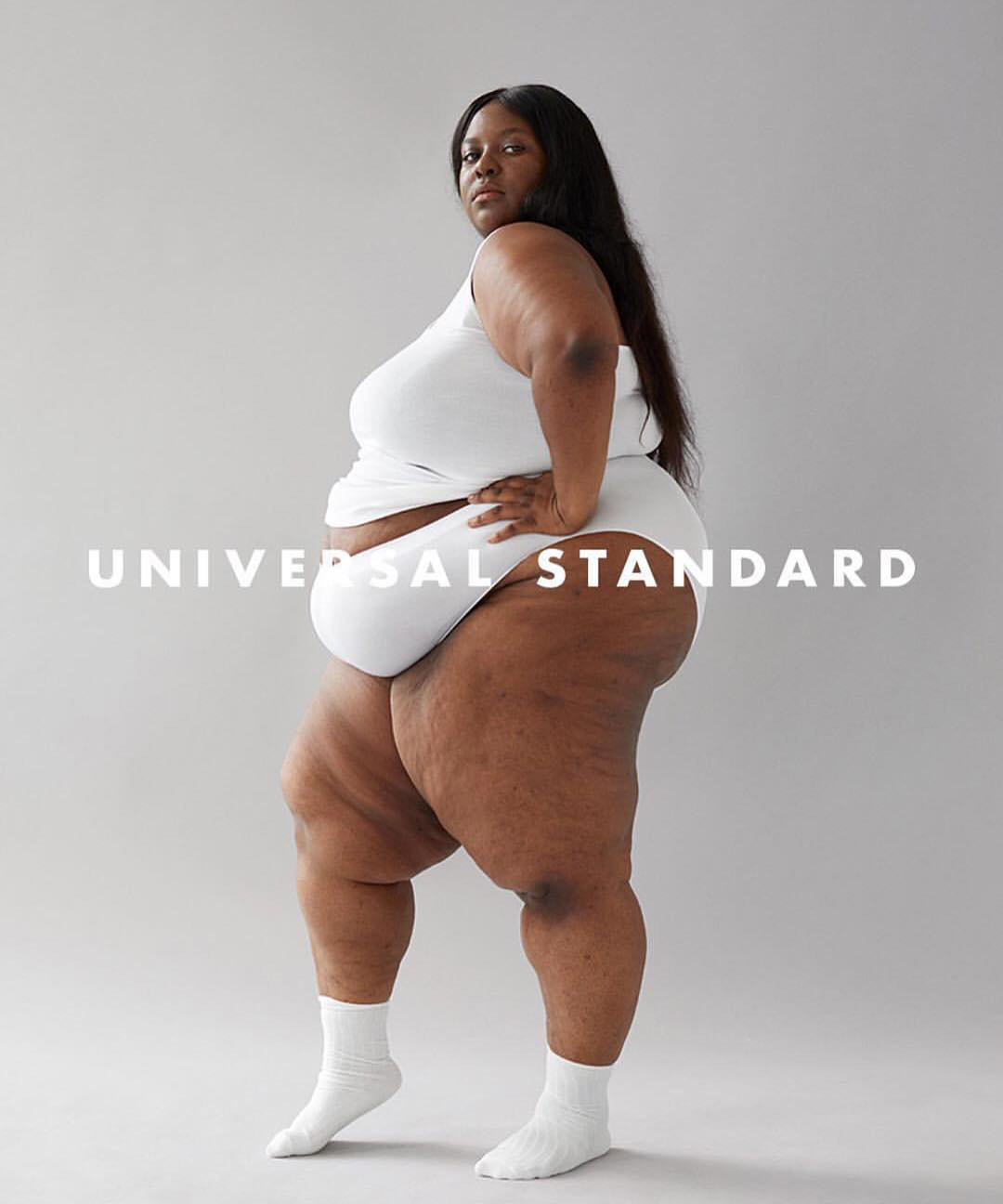 This Curve Model Posed in Her Underwear for the Most 'Powerful' Photo She's Ever Seen of Herself