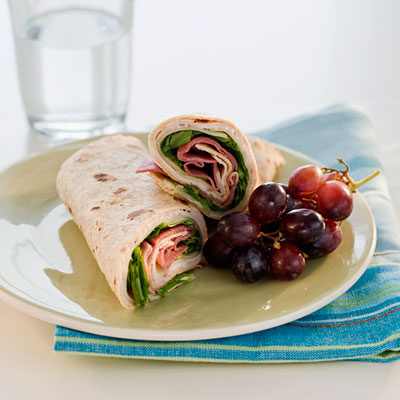 Turkey-Boursin Wrap