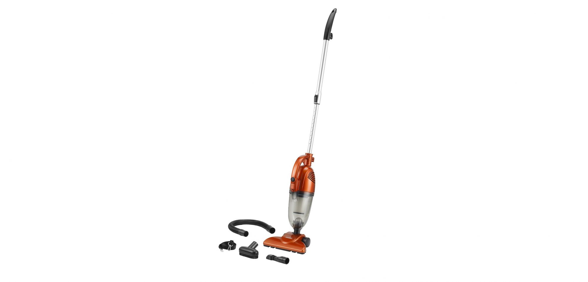 VonHaus 600W 2-in-1 Corded Upright Stick and Handheld Vacuum Cleaner with HEPA and Sponge Filtration
