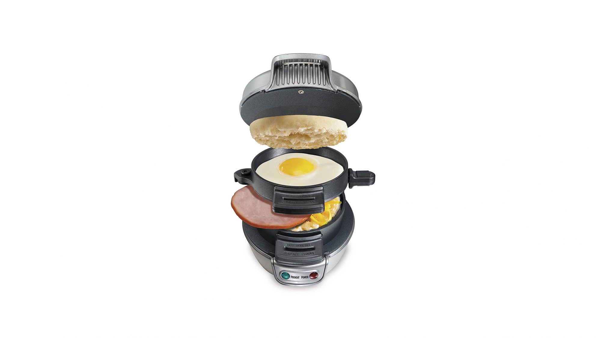 Amazon Appliances, layered breakfast sandwich maker