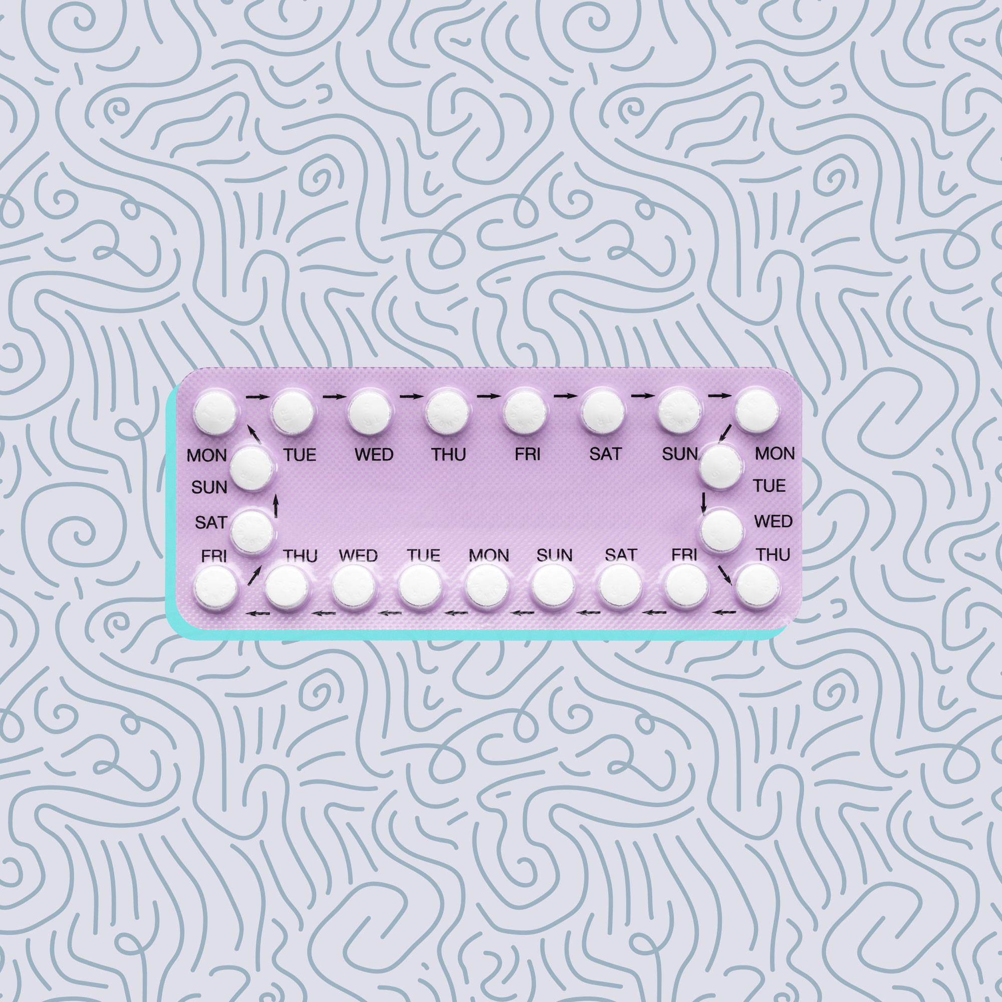 pill heavy periods pcos birth control treatment diagnosis