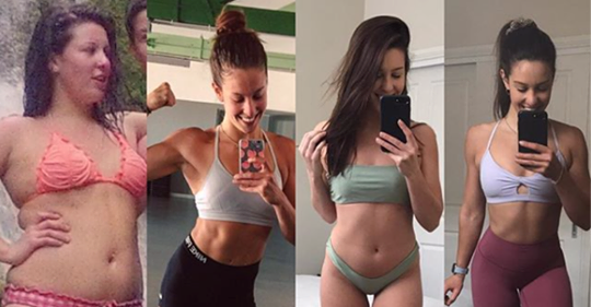 This Woman's Four-Year Transformation Shows That Healthy Living Isn't a One-Way Road