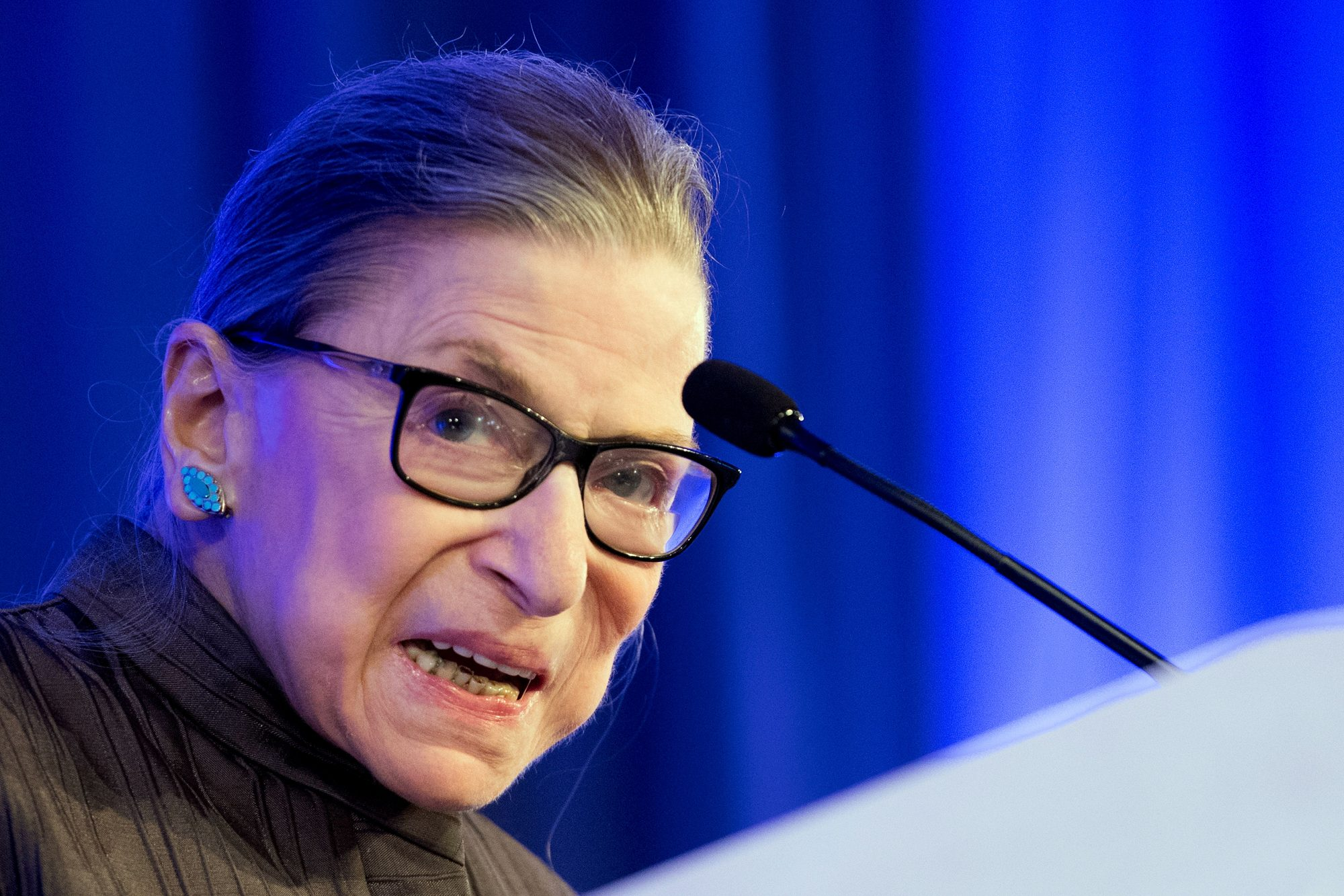 US Supreme Court Justice Ruth Bader Ginsburg Health Woman Power Government Women