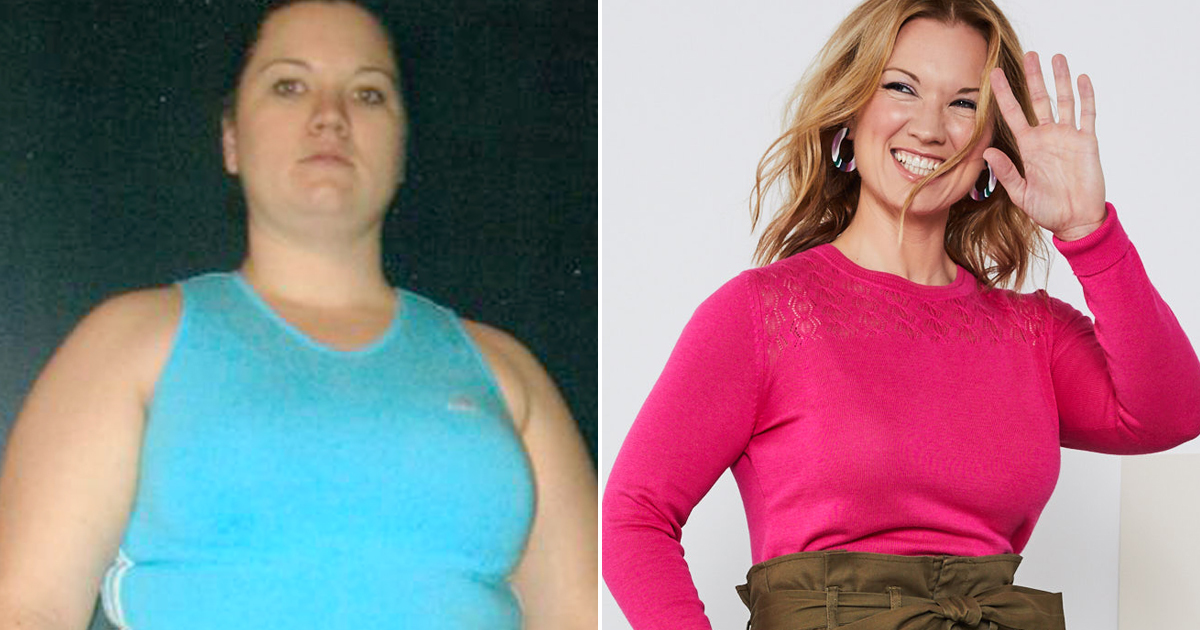 At 300 Lbs. This Woman Didn't Know She Was Pregnant—and It Pushed Her to Lose Half Her Size
