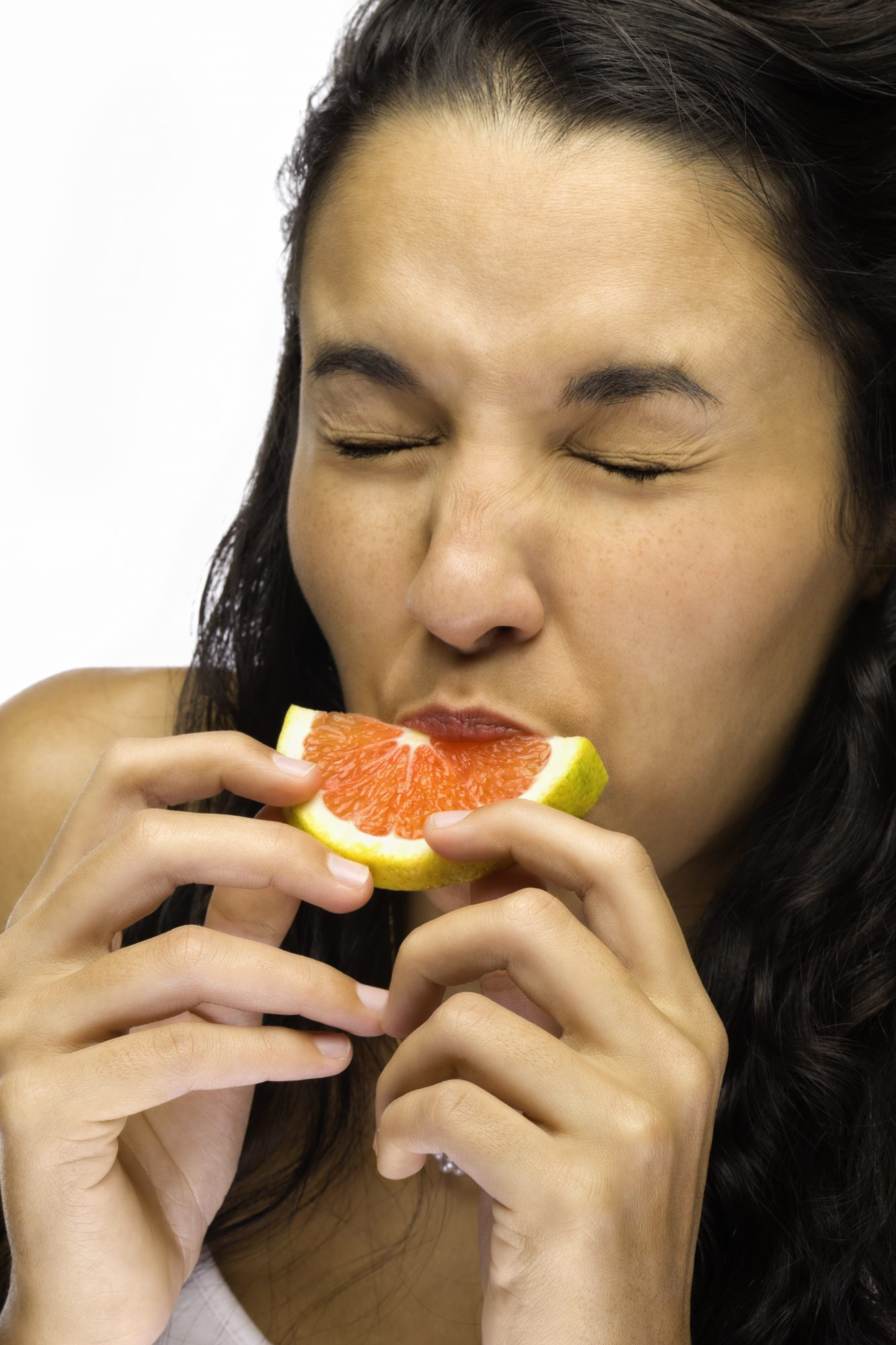 Grapefruit can aggravate canker sores