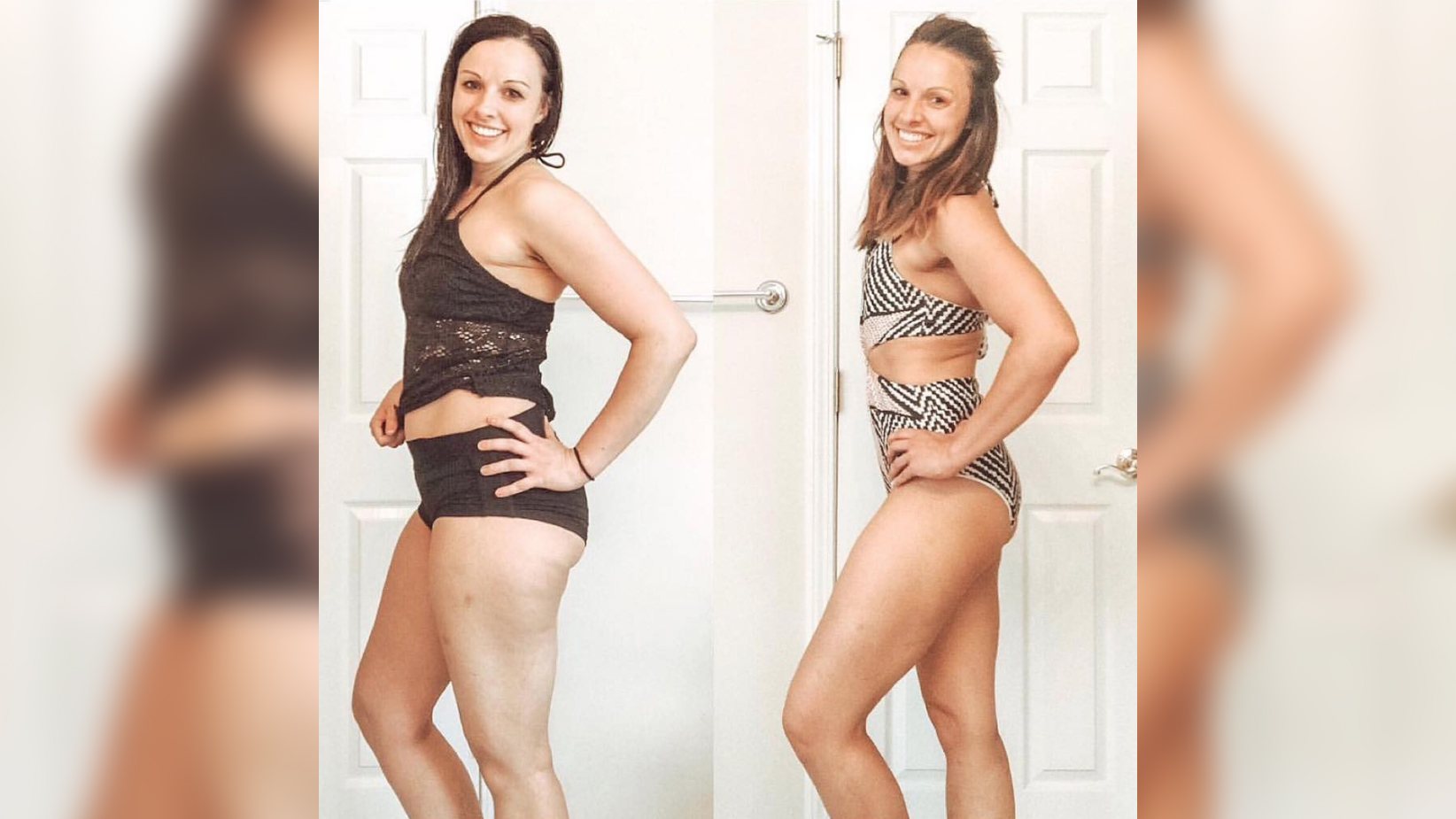transformation before-after ashley sneddon woman health fitness body