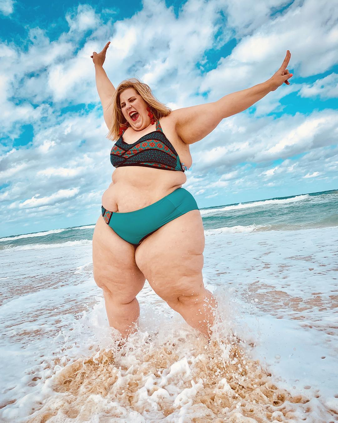 63d226d559b23 This Plus-Sized Model's Bikini Pic Is Sparking Controversy on Twitter -  Health