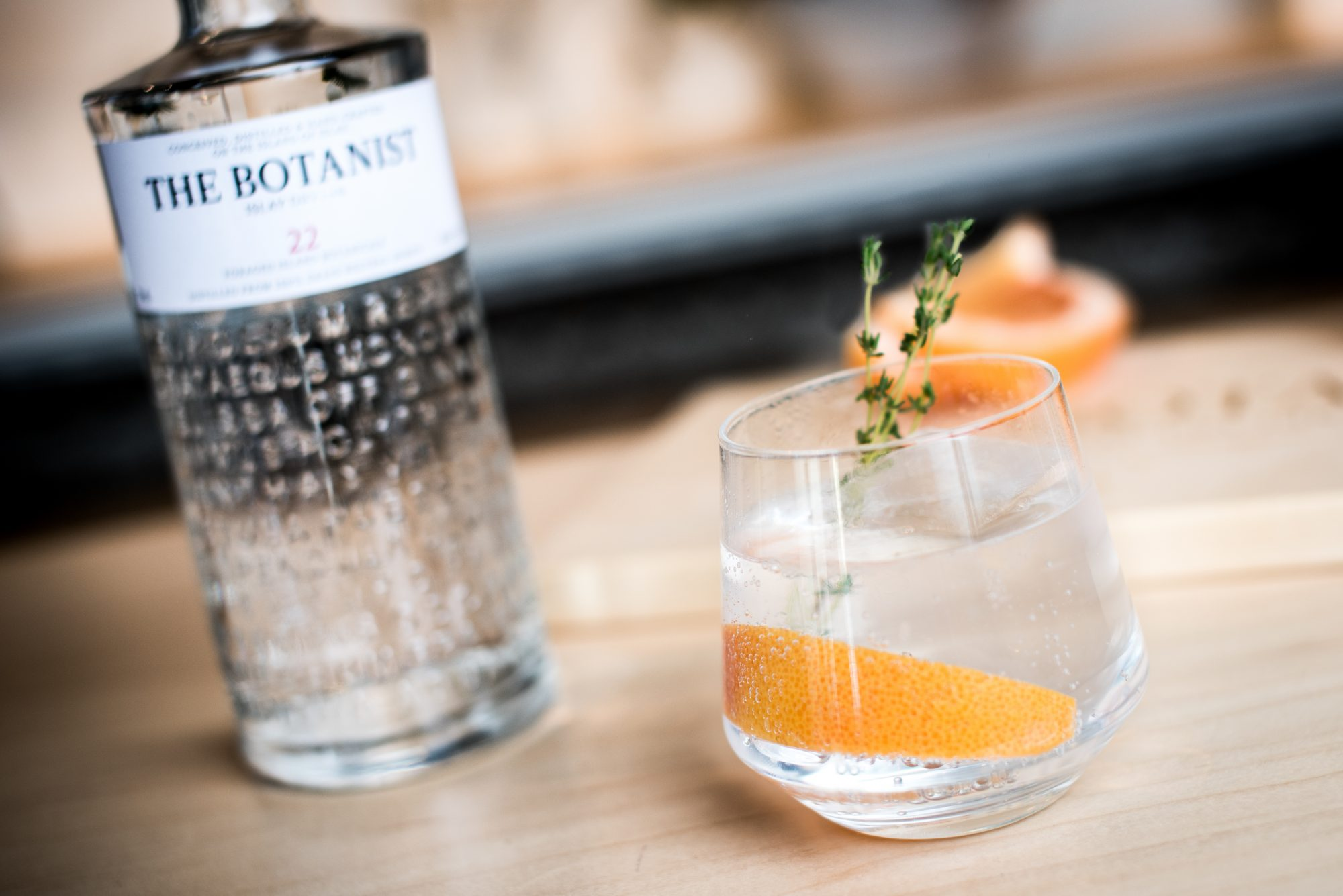 This Grapefruit Gin + Tonic Is the Cocktail You Need for Spring