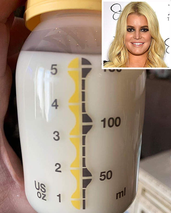 Jessica Simpson Proudly Displays Full Bottle Of Breast Milk This Is What Success Feels Like -1460