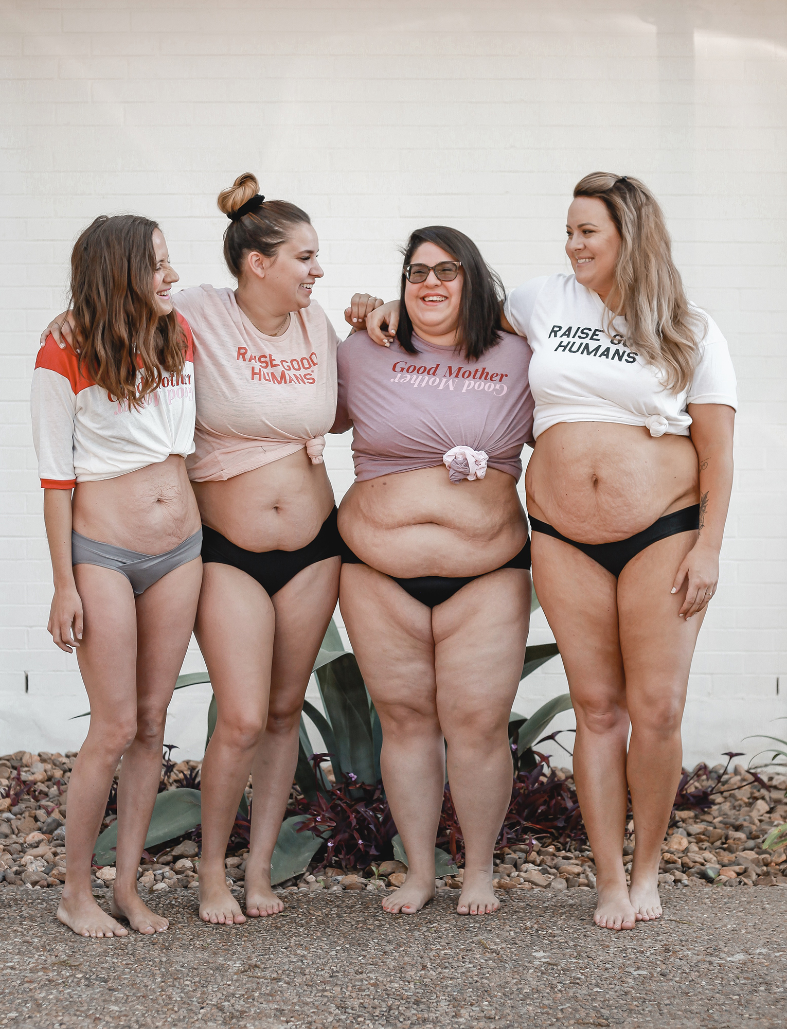 4 Moms Show Off Their Postpartum Bodies in Photo: 'If It Helped Even One Woman, We Would Be Happy'