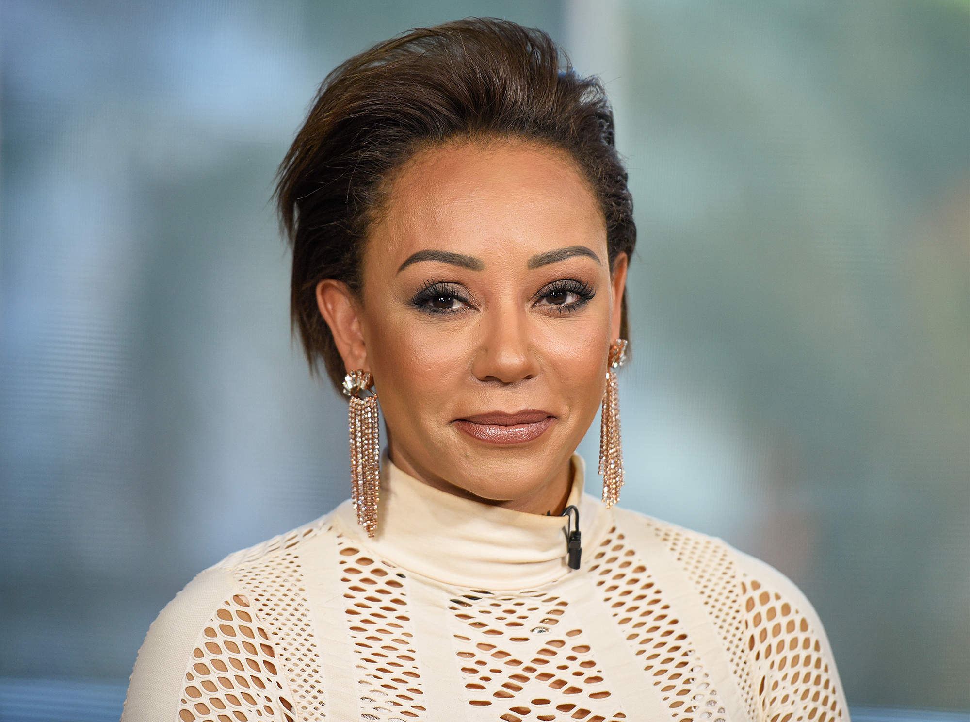 Mel B Speaks Out After Temporarily Going Blind in One Eye from Herpes