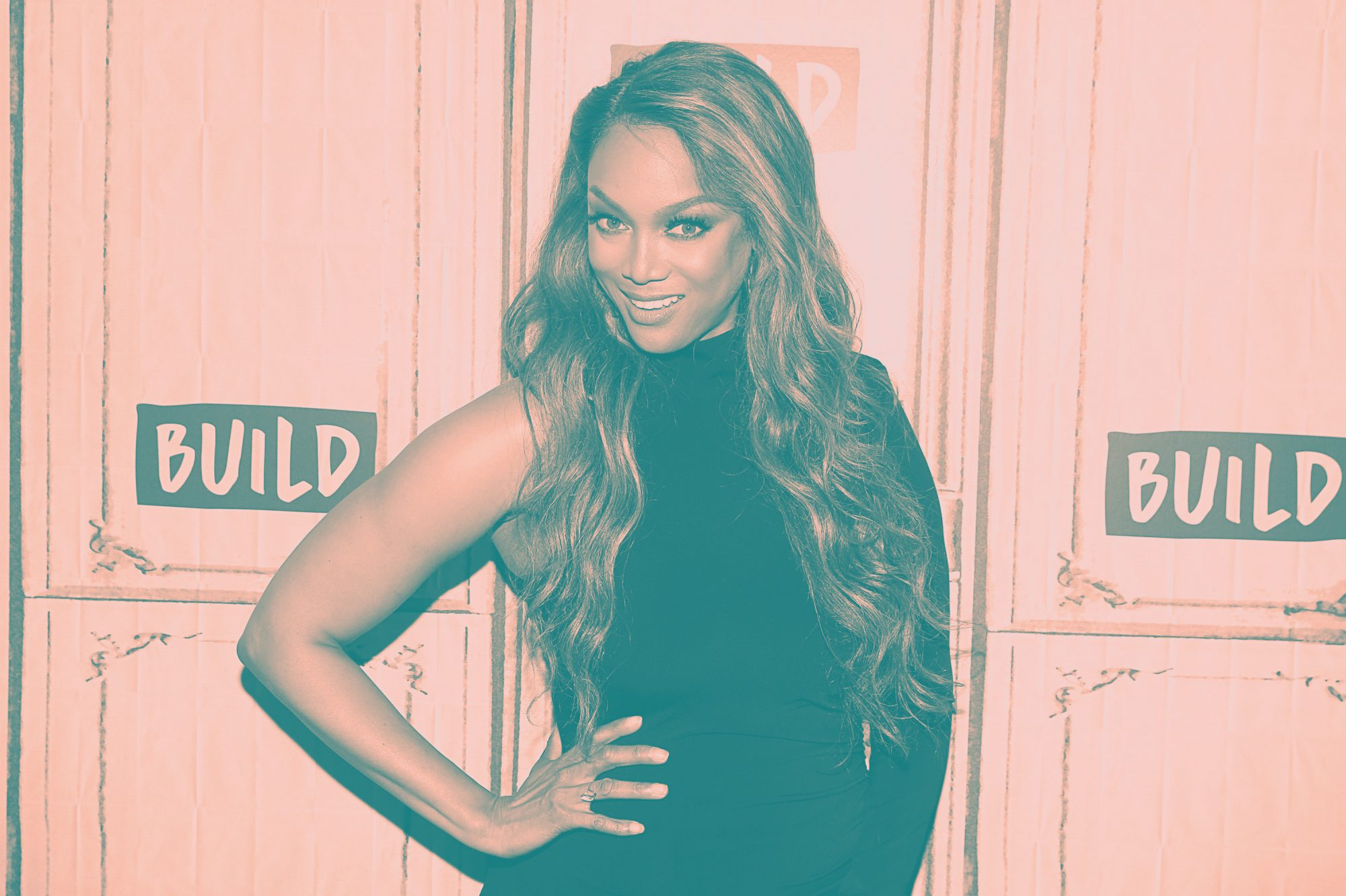 Tyra Banks Recreates Sports Illustrated Cover 23 Years Later at Age 45:  25 Pounds Heavier""