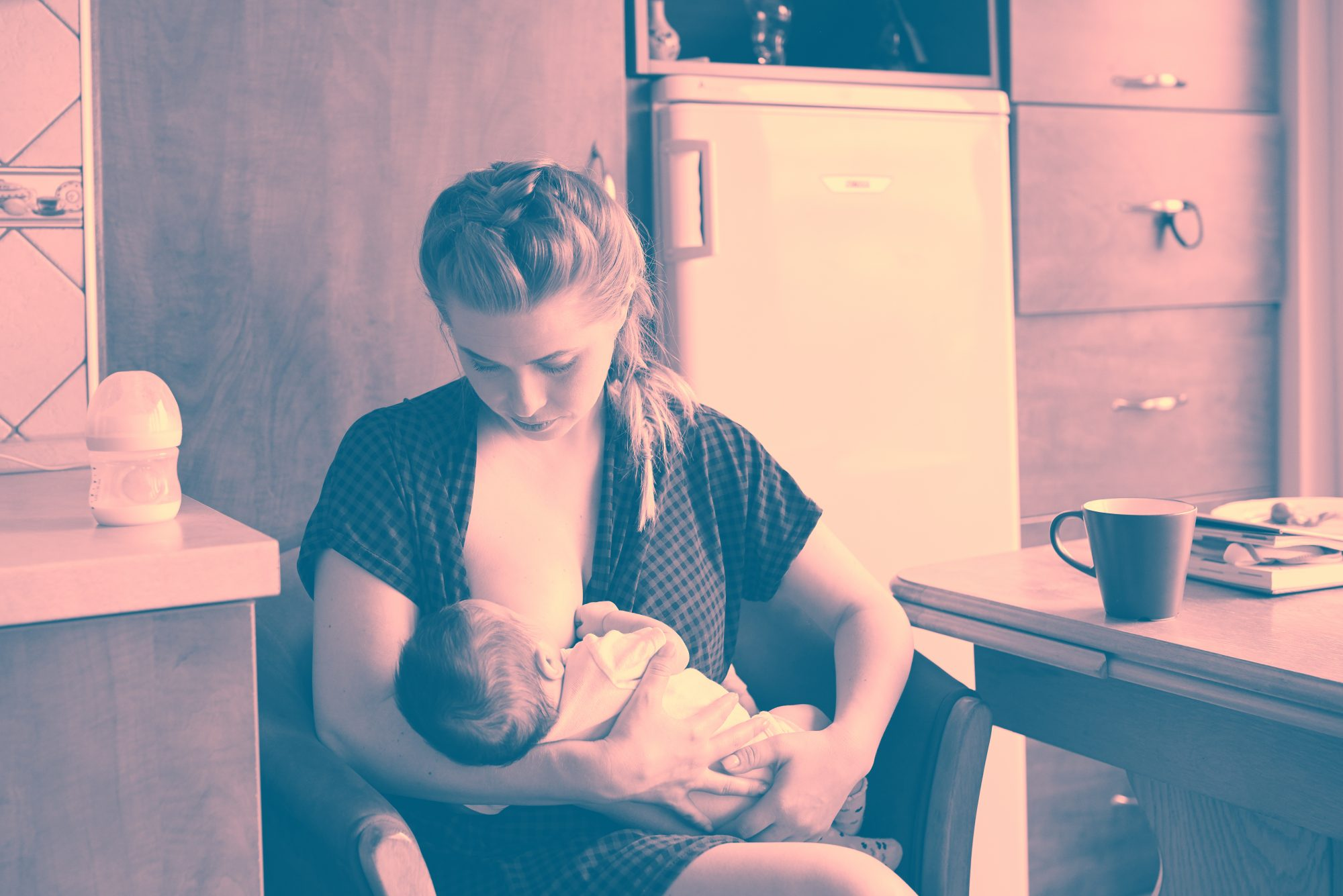 This Mother Discovered She Had Breast Cancer When Her Son Refused to Breastfeed From Her Right Breast