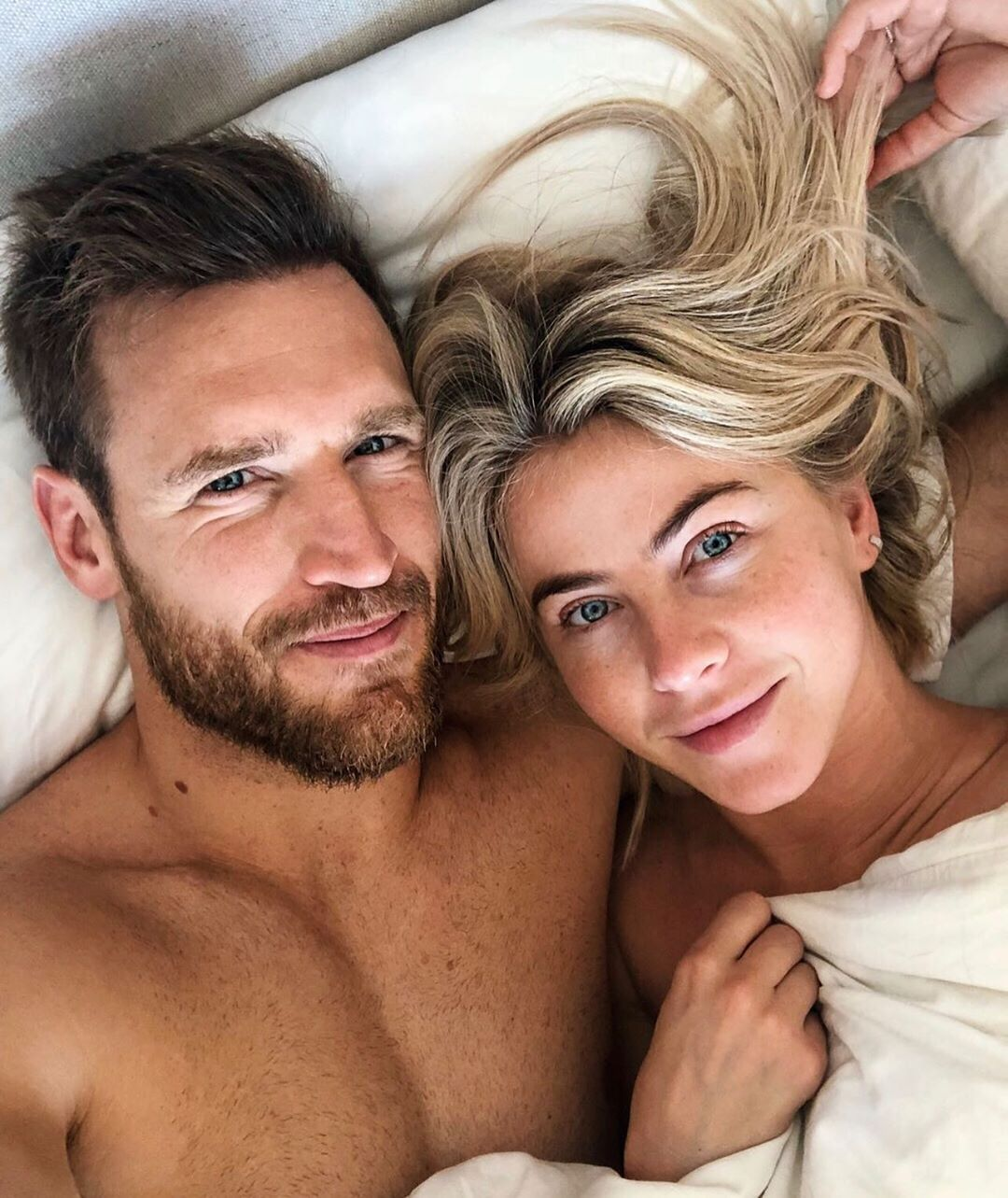 Brooks Laich Says Julianne Hough 'Really Enjoys It' When He Sucks on Her Toes: 'We Play Around'