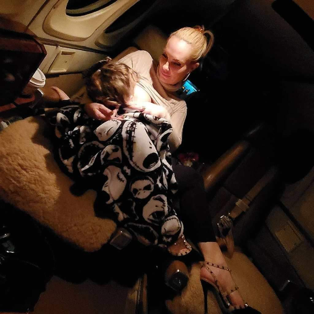 Coco Austin Shares Images of Her Breastfeeding Daughter Chanel, 3½: 'A Mother's Calling'