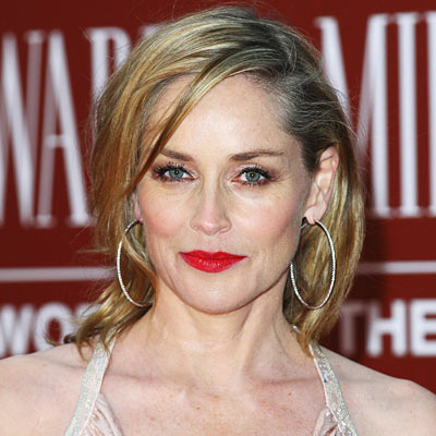 Sharon Stone - Transformation - Hair - Celebrity Before and After