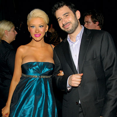 Christina Aguilera, Jordan Bratman, Emmys After-parties