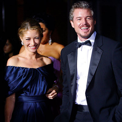 Rebecca Gayheart, Eric Dane, Entertainment Tonight/People magazine party, 2007 Emmys After-parties