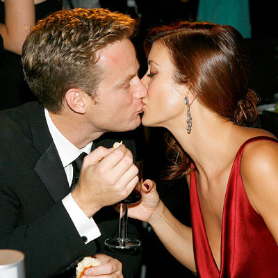 Alex Young, Kate Walsh, Governor's Ball, 2007 Emmys After-parties