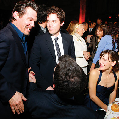 Casey Affleck, Josh Brolin, Ben Affleck, Jennifer Garner, The National Board of Review awards gala, new york city
