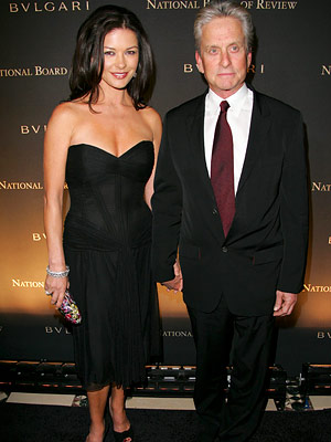 Catherine Zeta Jones and Michael Douglas, National Board of Review Gala, New York City