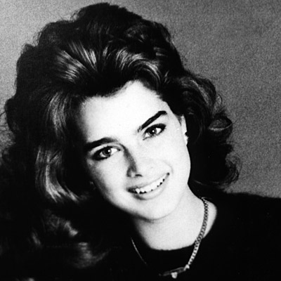 Brooke Shields, Transformation, Calvin Klein, celebrity hair, celebrity makeup