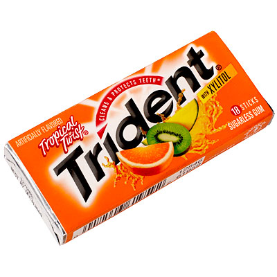 Cover Exclusives, Beyonce's Fashion & Beauty Favorites, Trident Tropical Twist Gum