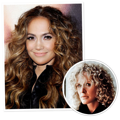 Jennifer Lopez - Glenn Close - Curly hair - Classic Hairstyles